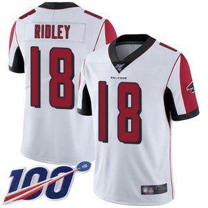 Falcons Calvin Ridley 100th Season Jersey 1